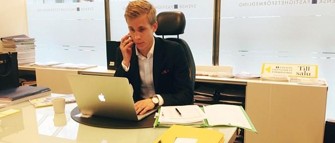 Mattias Karlsson Svensk Fastighetsförmedling Danderyd