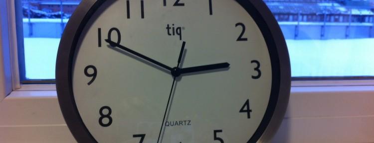 Tid är kanske det vi har minst av i dagens samhälle