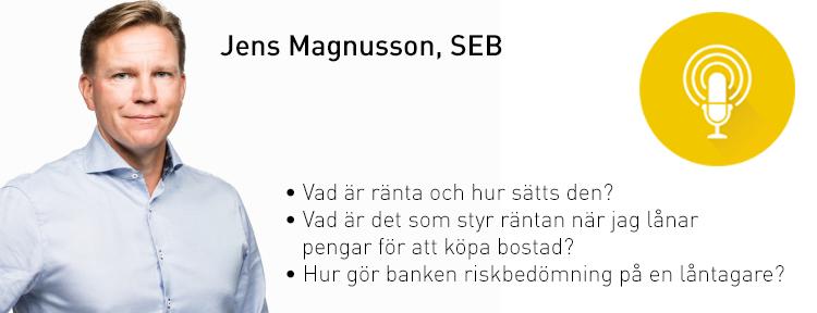 Jens Magnusson, SEB