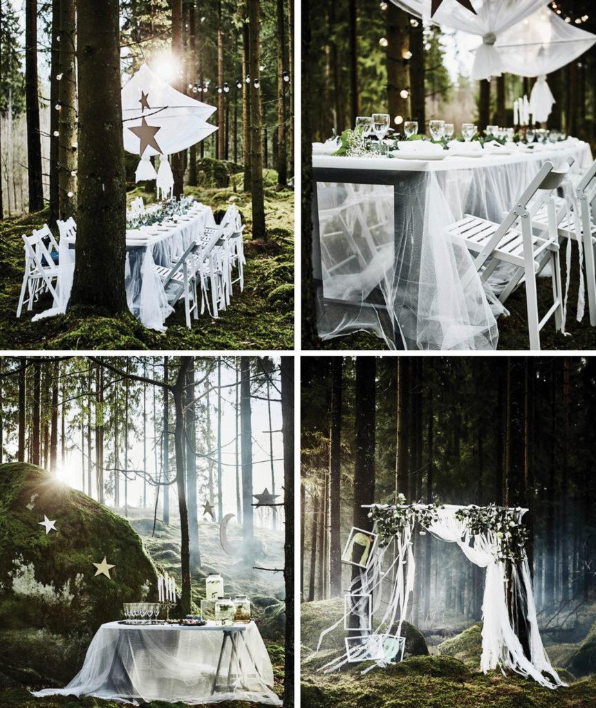 Sommarfest i skogen