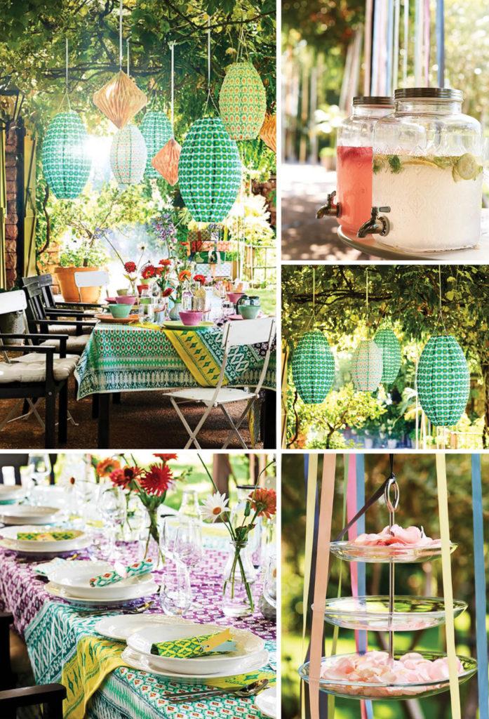 Sommarfest i trädgården