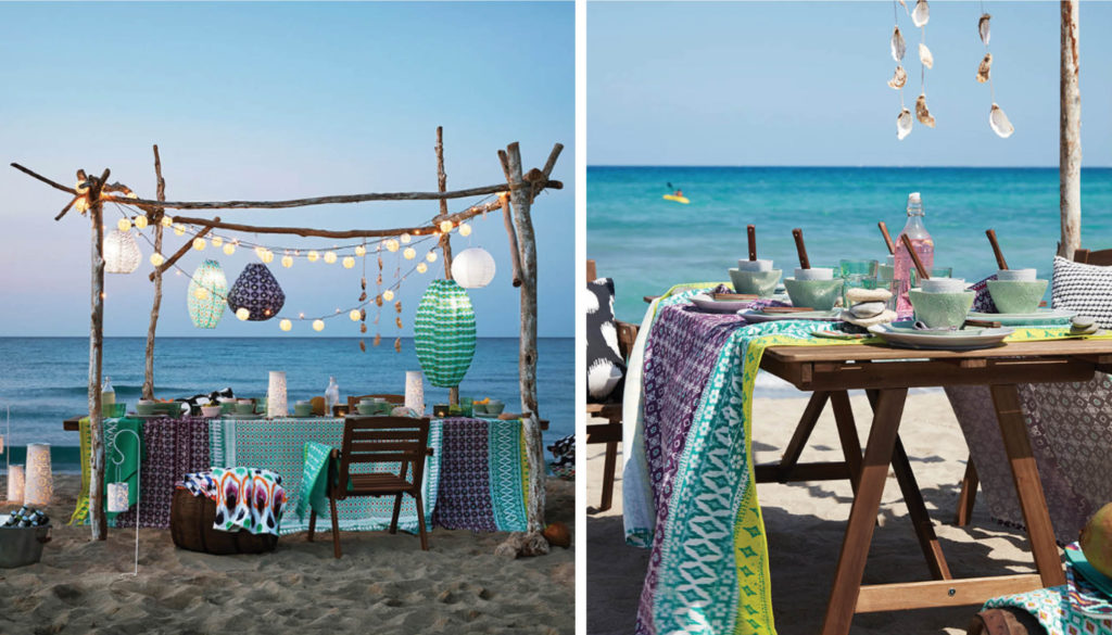 Sommarfest vid havet