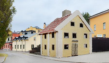 Drottninggatan 19, Norrköping. Byggherre: Jerry Milton Ross på Saras Bageri i Norrköping