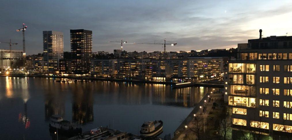 Vacker Stockholms-vy