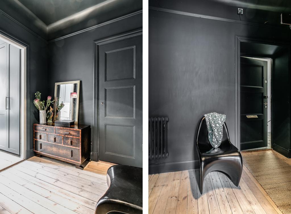 Var inte rädd för att måla in både dörrfoder och golv- och taklister i  samma färg. Varför inte testa att måla taket. Tänk då bara på att en  mörkare kulört ... a3e457c7e003e