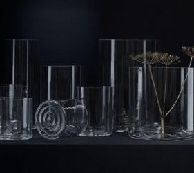 Cylinder. Vaser i olika storlekar av formgivaren Krstina Stark. Nominerad i Best in Show Prize - Formex Formidable. Foto: Kristina Stark/Grand Relations