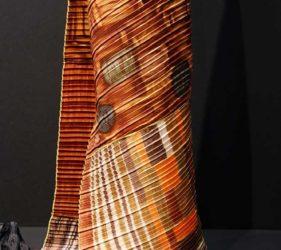 Hantverk av återvunna textilier av Susanne Beskow. Nominerad i Best in Show Prize - Formex Formidable. Foto: Maria Sånge