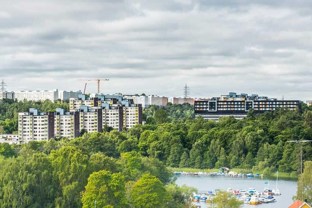 Botkyrka kommun har haft kraftigt stigande bostadspriser senaste 20 åren.