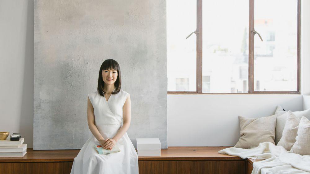 Marie Kondo är den japanska organisationskonsulten som grundade KonMari. Foto: Konmari Media Inc.