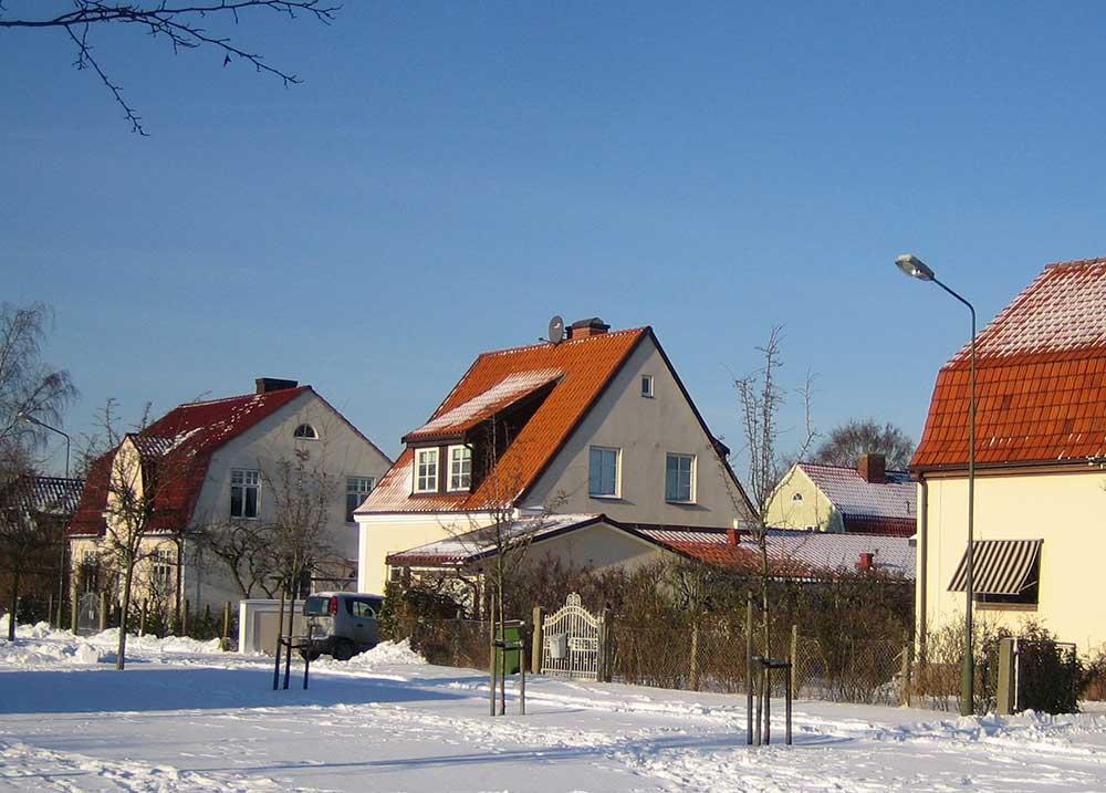 Bostadsområdet Solbacken, Malmö Licens: CC BY-SA 3.0