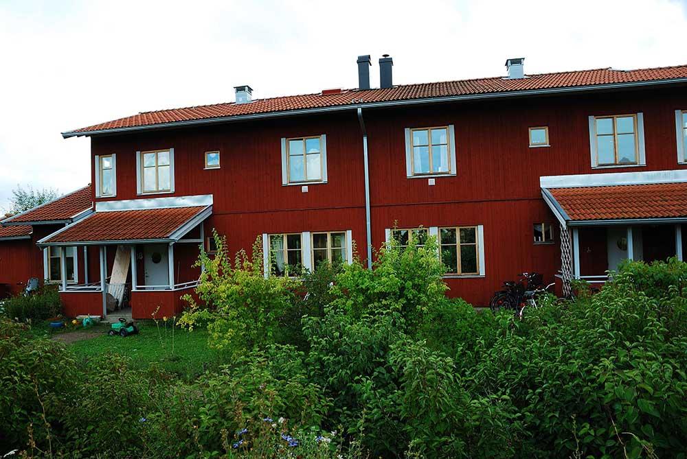 Bostadshus i Håga, Uppsala Licens: CC BY-SA 3.0
