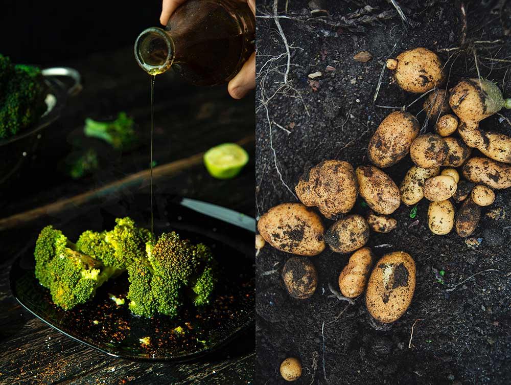 Odla broccoli & potatis på balkongen