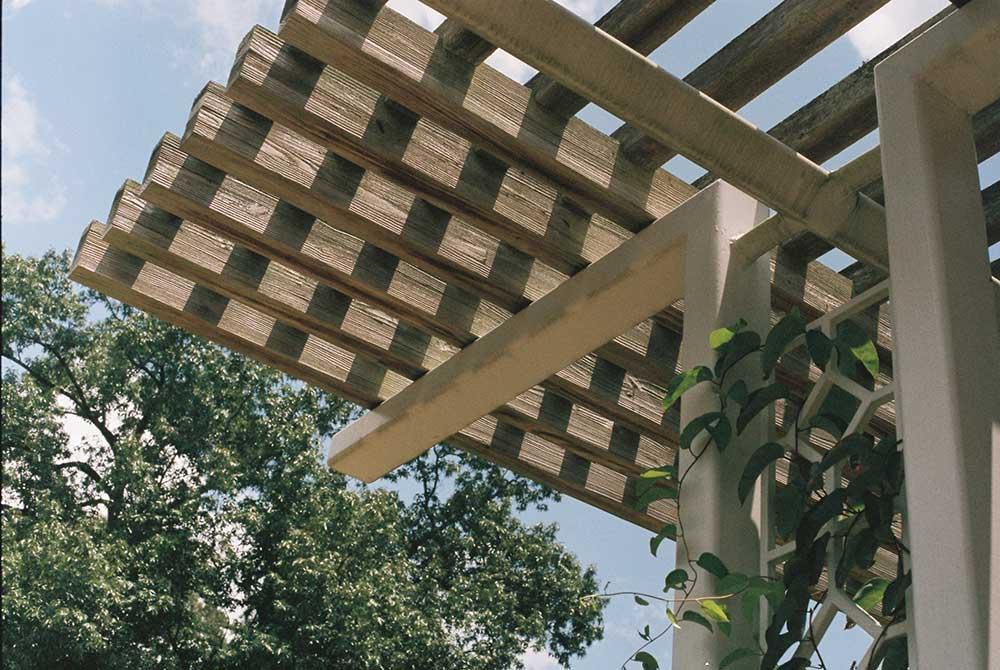 Bygga altan med tak