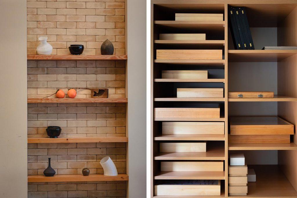 En platsbyggd bokhylla är perfekt för att fylla upp en tom vägg